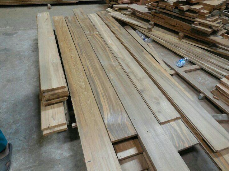 46 best reclaimed teak images on pinterest teak home for Recycled flooring ideas