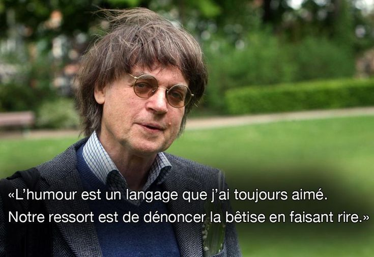 """CABU:"""" humor is a language that I always loved , our responsibility is to denounce stupidity by laughing of it"""" Cabu, one of the French journalists assassinated in Paris by terrorists at """" Charlie Hebdo"""" one of the most beloved caricaturist newspaper in France"""