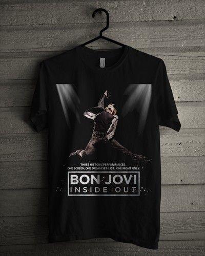 Kaos Bon Jovi - Inside Out - BikinKaosSatuan