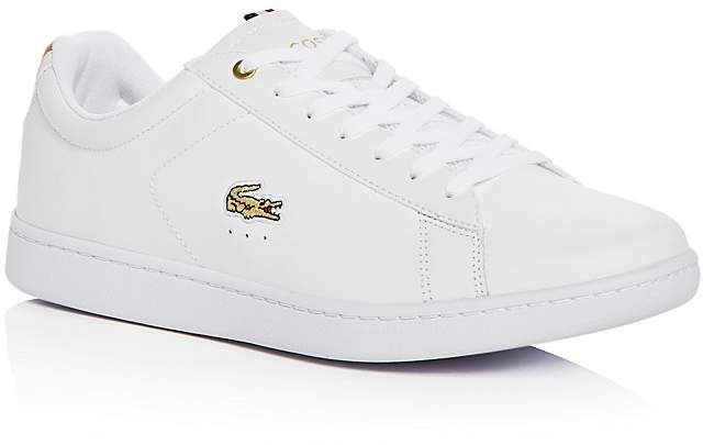 8398fbb1520f29 Lacoste Men s Carnaby Leather Lace Up Sneakers