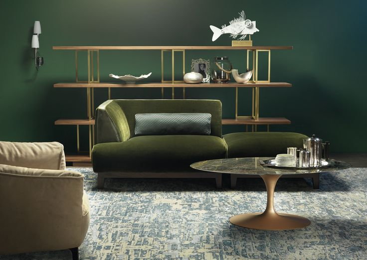 BORZALINO #furniture #sofa #chair #armchair #table #coffee table #mirror
