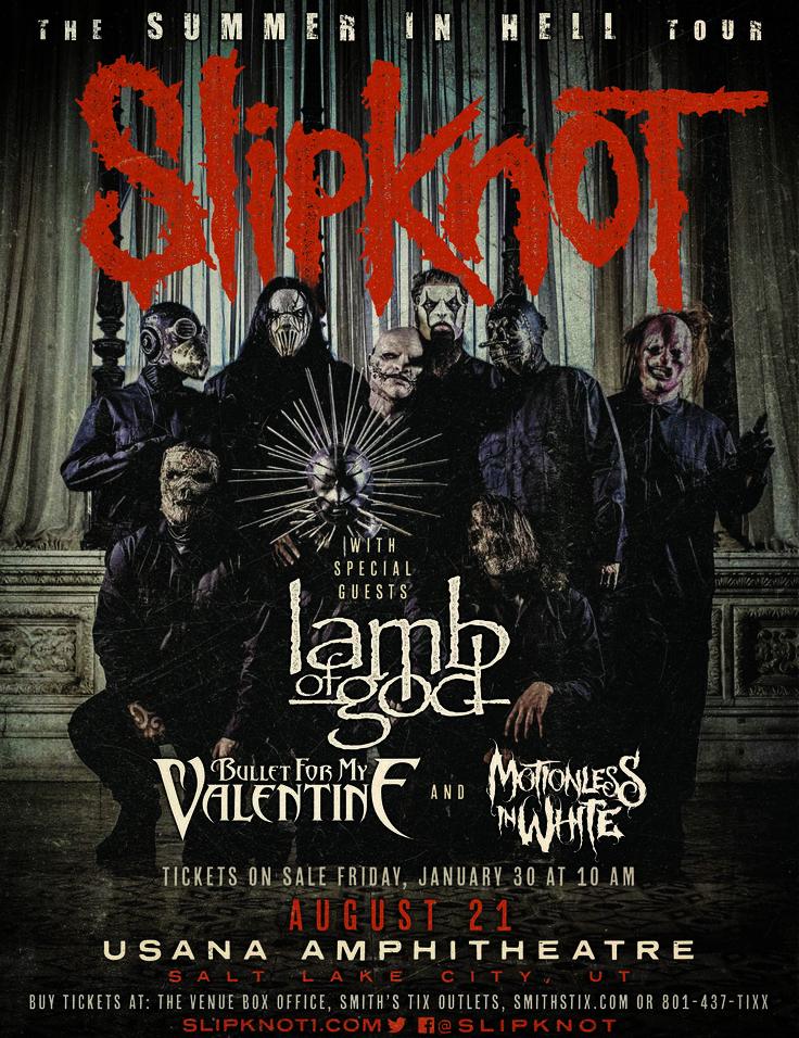 Slipknot Tour Posters   Slipknot Blog