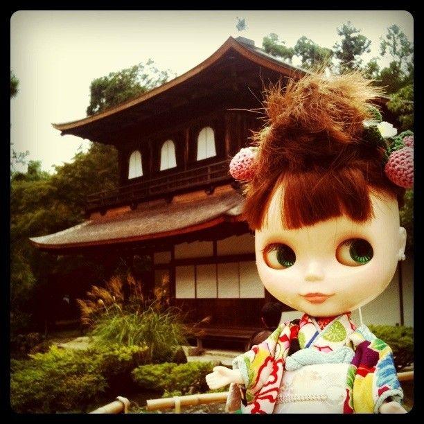 visiting Ginkakuji (@Kyoto)