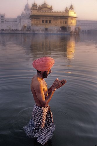 Morning Prayers,Amritsar, India