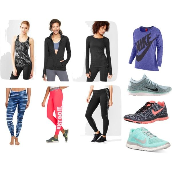 """""""Winter Workout Gear"""" by emfx on Polyvore"""