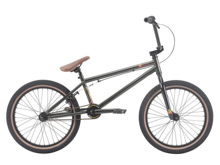 "Haro Bikes ""Leucadia"" 2018 BMX Bike - Gloss Metallic Grey | kunstform BMX Shop & Mailorder - worldwide shipping"
