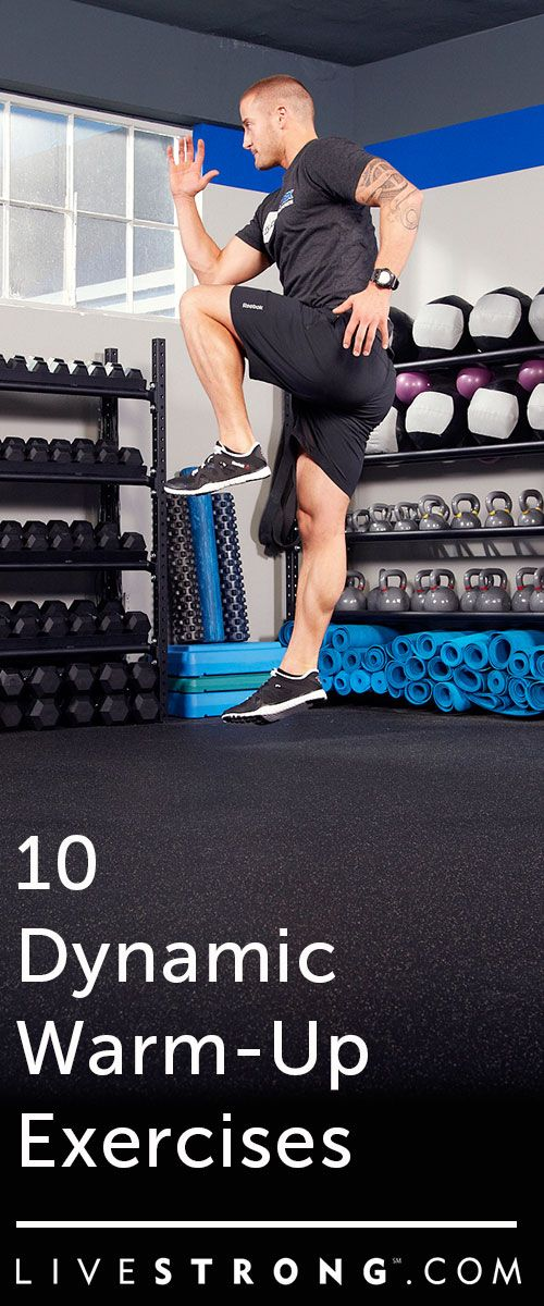 10 Dynamic Warm-Up Exercises to Prime You for Your Workout