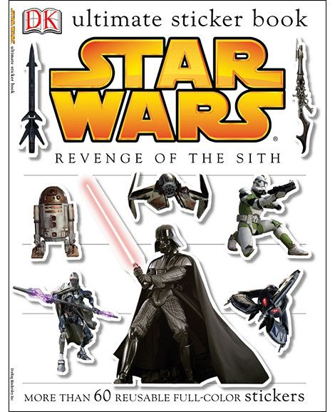 Ultimate Sticker Book: Star Wars: Revenge of the Sith