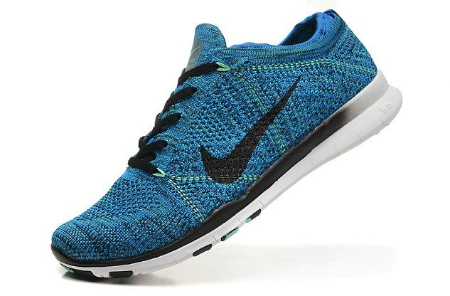 new products 770ed cebe3 Nike Free TR Flyknit Hyper Blue Gradient Black White