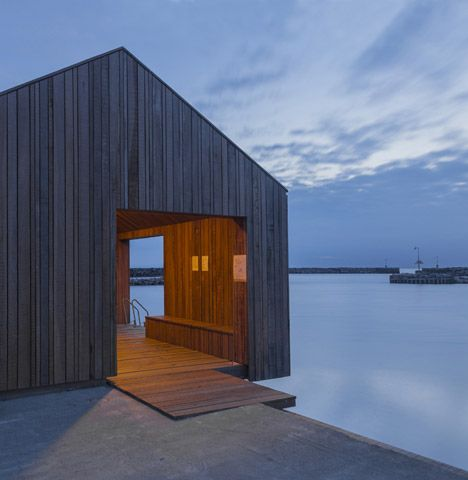 A small town on the Danish island of Bornholm has become another destination for harbour swimming facilities, thanks to a series of new walkways and structures by Swedish firm White Arkitekter.