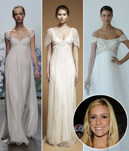 Wedding dresses for (pregnant) Kristin Cavallari #weddings