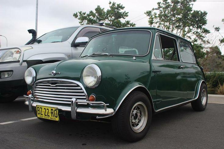 1968 Mini Cooper S.