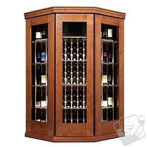 Vinotheque Bay Window with N'FINITY Cooling Unit at Wine Enthusiast - $10995.00: 1099500 Wineenthusiast, 10995 00 Wineenthusiast, Bay Windows, Wineenthusiast With, Bays Window