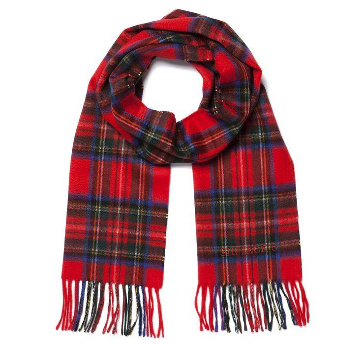 SIR JACK'S - Royal Stewart Tartan Cashmere Scarf, $325.00 (http://www.sirjacks.com/royal-stewart-tartan-cashmere-scarf/)