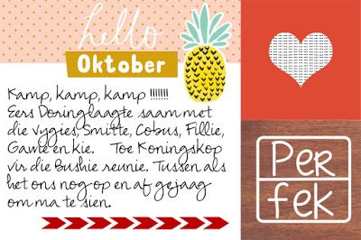 Make your own Project Life journaling / filler cards on your phone!!! Tell you how I did it. PERFEK Afrikaans digi image linked.