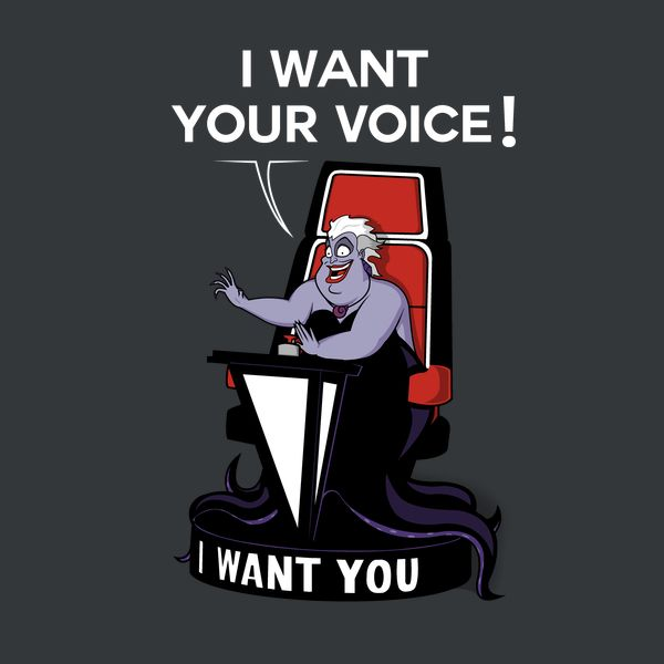I want your VOICE! - NeatoShop