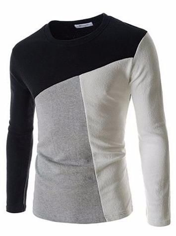 Check out this beautiful tricolor full sleeve T-shirt!
