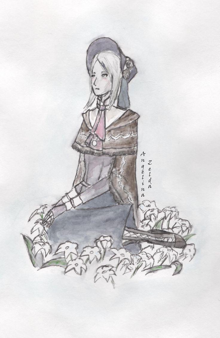 The plain doll | Bloodborne #AngelZArt  #Bloodborne  #ThePlainDoll