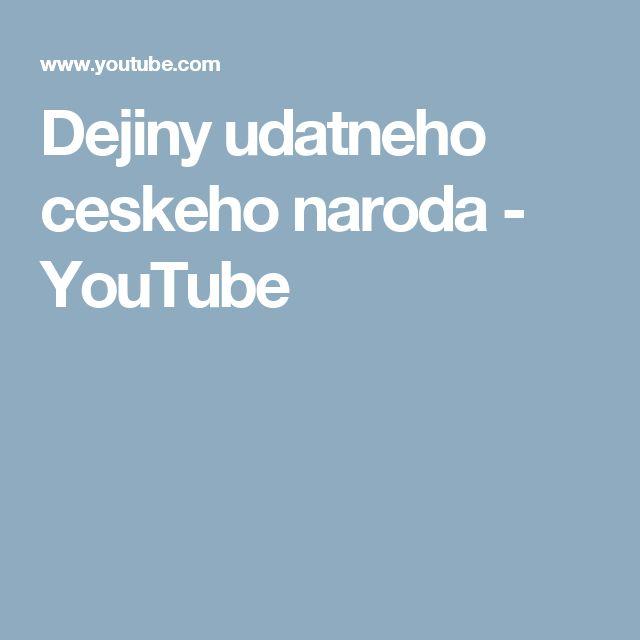 Dejiny udatneho ceskeho naroda - YouTube