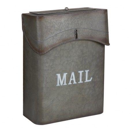 M s de 25 ideas incre bles sobre metal decorativo en pinterest - Buzon vintage ...