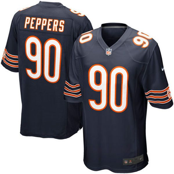 Youth Chicago Bears Julius Peppers Nike Navy Blue Game Jersey - $20.99