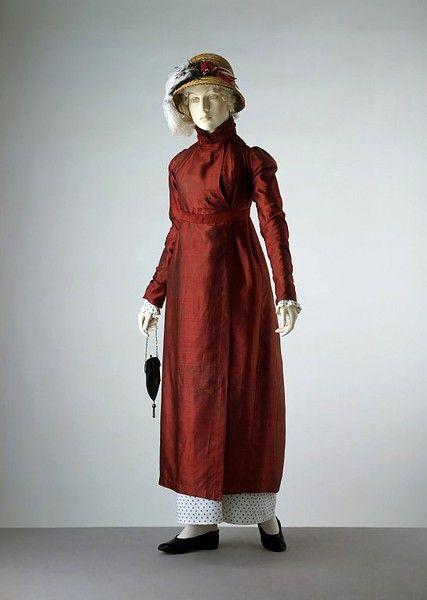 1810-15, British dress, V&A