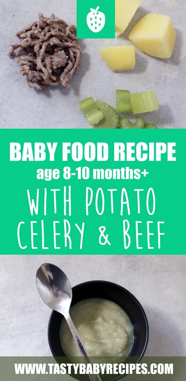 Baby Food Recipe Chicken Apple Potato Age 6 8 Months Recipe Baby Food Recipes Baby Puree Recipes Beef Recipe For Baby