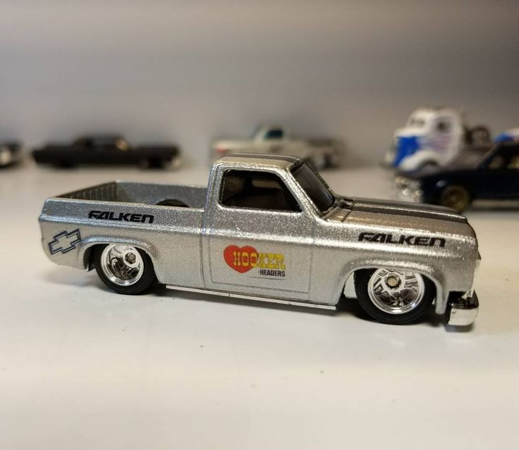 Almost done with this one. Silver with black stripes and some decals. Love these wheels. #chevy #silverado #c10 #c10trucks #customhotwheels #hotwheels #selfmadegarage #chevyracing #chevyfamily #diecast #diecastcars #diecasttakeover #diecastcommunity #trucksofinstagram #americanmuscle #americanmusclecars #knosgarage #texas #hwcollectors #hwc #toysofinstagram #toys