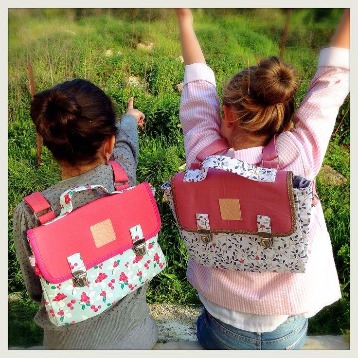 Cartables filles rentrée 2014 Buy me sur www.michtobello.com