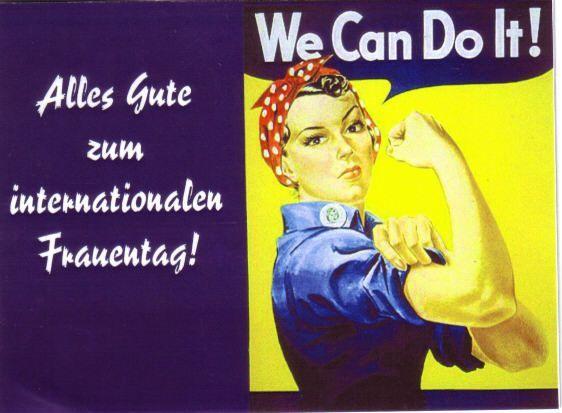 HEUTE ist der internationale Frauentag. Hierzu möchten Wir allen Frauen recht herzlich gratulieren. Wünschen wir allen Frauen der Gemeinde Werther einen schönen und erholsamen Feiertag.
