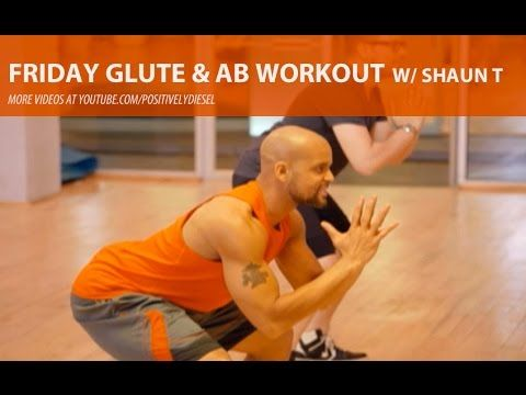 Friday Glute & Abs Workout [w/Shaun T]