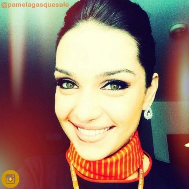 GOL Airlines Stewardess @Pamelagasquesale #cabincrew #voegol #beautiful  @voegoloficial