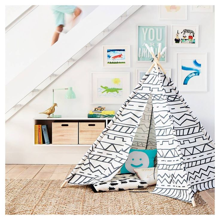 Pillowfort Teepee & Creature Kids' Collection. Image 1 of 1.