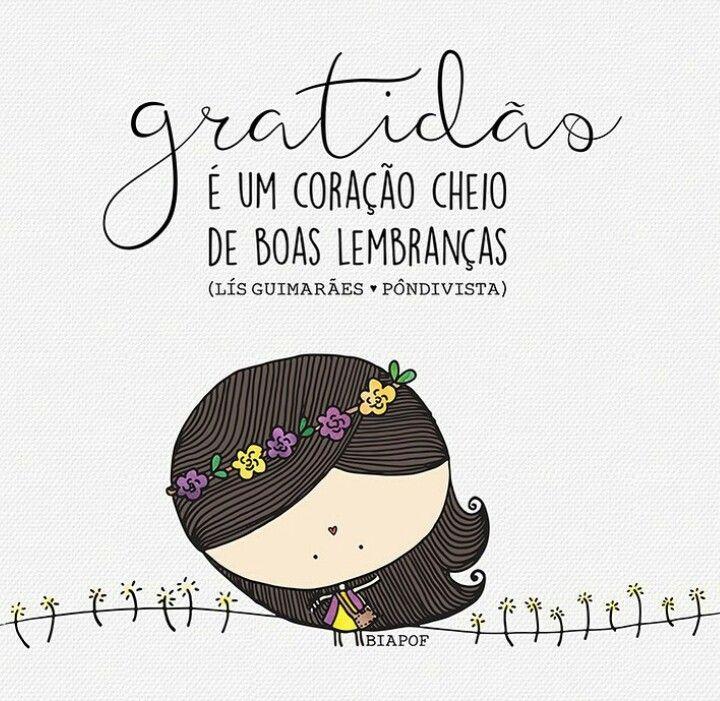 Há que sermos gratos às pessoas que nos fazem felizes.!...
