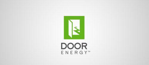 door energy logo designs