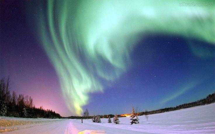 Aurora Boreal over Finland