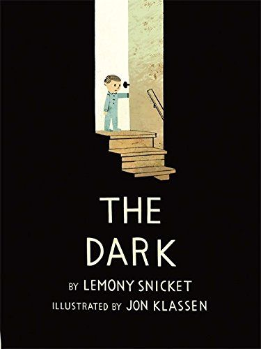 The Dark - amazing book by Lemony Snicket and Jon Klassen http://www.amazon.it/gp/product/1408330032/ref=as_li_tf_tl?ie=UTF8&camp=3370&creative=23322&creativeASIN=1408330032&linkCode=as2&tag=robad-21