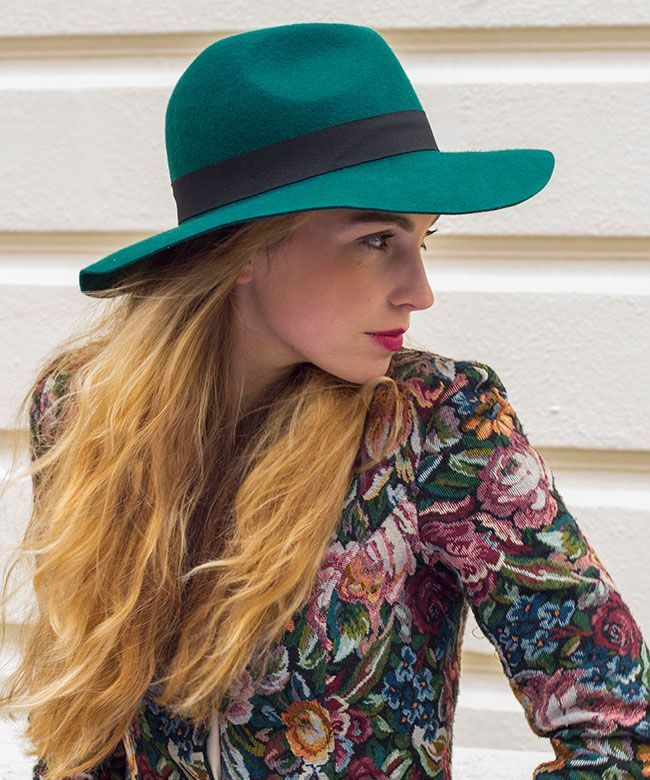 GREEN FEDORA http://www.mudu.co.uk/product/green-fedora/: