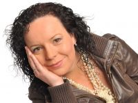 Ann Marie Kelly presenter of the Breakfast show and the Roadhouse Cafe show on Midlands 103FM Ireland's hardest working radio presenter