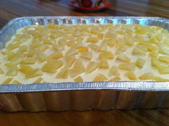 Pastel humedo de piña por Nora Reyes – Recetas Itacate