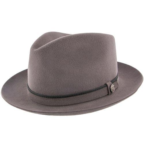 Belfast - Stetson Fur Felt Fedora Hat - TWBLFS 88ca31f707c