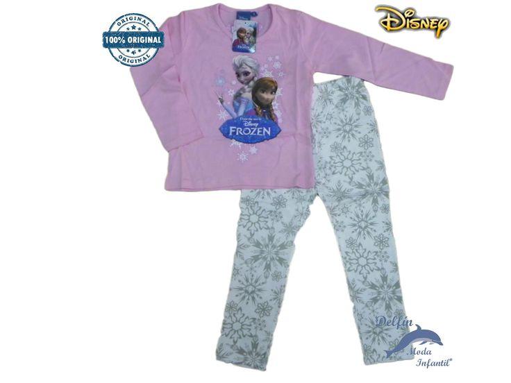 Pijama FROZEN rosa con estampacion Elsa y Ana