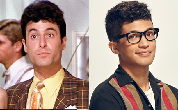 Barry Pearl as Doody and Jordan Fisher as Doody - Grease - Then and Now - EW.com