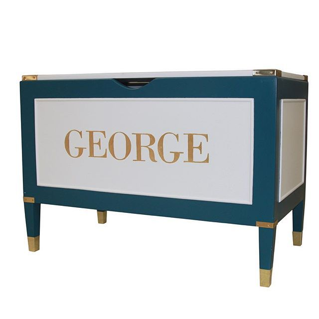 Our Gramercy Collection keeps growing. Introducing our Gramercy Toy Chest!  Available in any AFK Finish with polished English brass or nickel hardware. This is a versatile and stylish toy chest!  #afk #afkfurniture #artforkids #toychest #gramercycollection #gramercy #custom #bespoke #furniture #children #baby #babyfurniture #childrensfurniture #playroom #nursery #interiordesign #designerrooms #designernursery #beverlyhills #nyc #madeintheusa