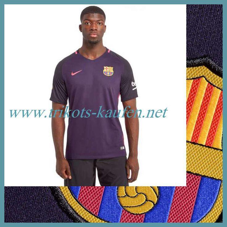 Die Neuen FC Barcelona Trikot Auswärts Lila 2016 2017 Online Shop