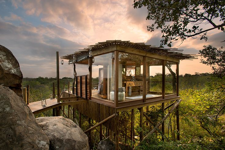Lions Sands South Africa #treehouse