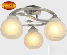 Абажуром стекла современного потолочные светильники E27 110 В 220 В высокое качество потолочные светильники для гостиной / спальни / столовая комната Luces де techo(China (Mainland))