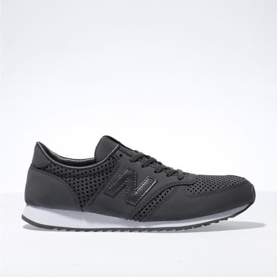 womens dark grey new balance 420 trainers | schuh
