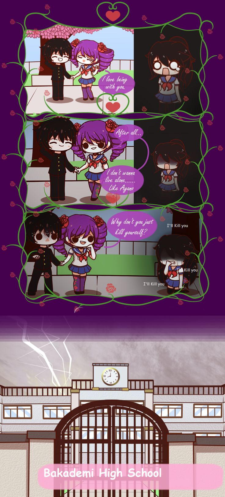 Yandere Comic - Kizana's Happy End by DancerQuartz on DeviantArt