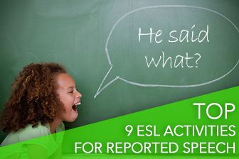 """BusyTeacher.org > Print > """"He Said What?"""" Top 9 ESL Activities for Reported Speech"""